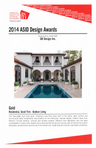 ASID Design Award 2014
